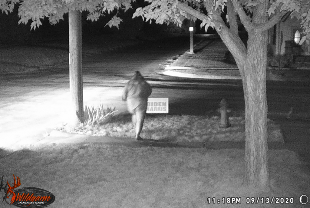 Chadron Police Locate Suspect in Political Sign Theft