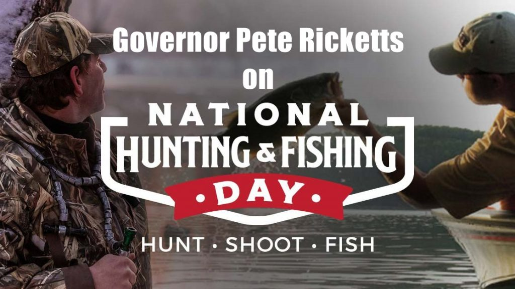 Governor's Weekly Column: Hunting and Fishing in Nebraska