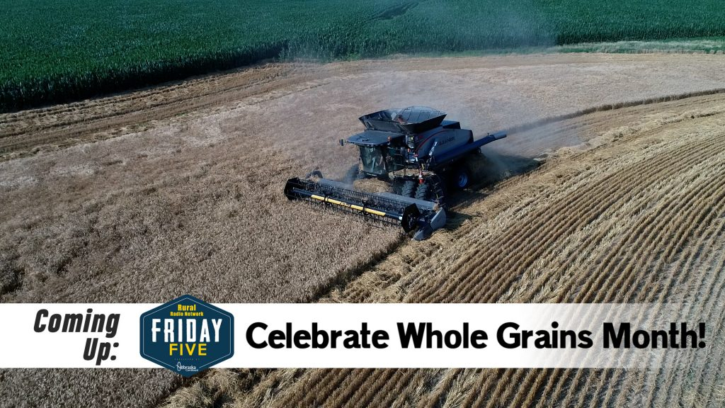 Going with the Whole Grain | Friday Five | Sept. 11, 2020