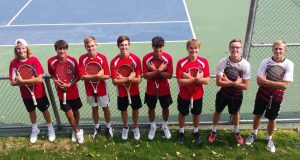 Scottsbluff boys tennis finish 3rd at Hastings Invite