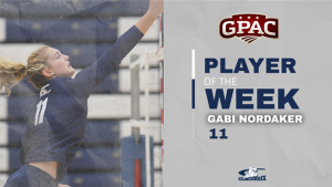 Nordaker reels in GPAC Attacker of the Week award