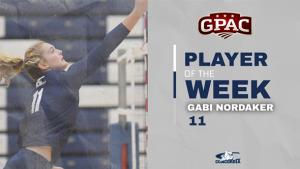Nordaker reels in GPAC Attacker of the Week award