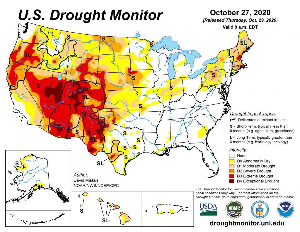 La Nina fueling western drought