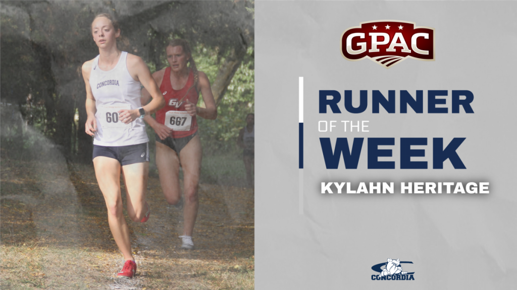 Heritage races to GPAC Runner of the Week honors