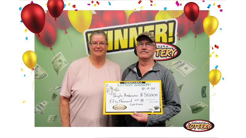 Cheyenne Co. Man Wins Top Prize in Nebraska Lottery Scratcher Game