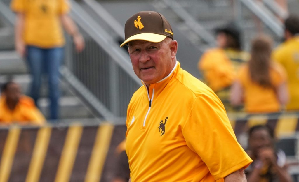 Wyoming extends Head Football Coach Craig Bohl's contract one year through 2024 season