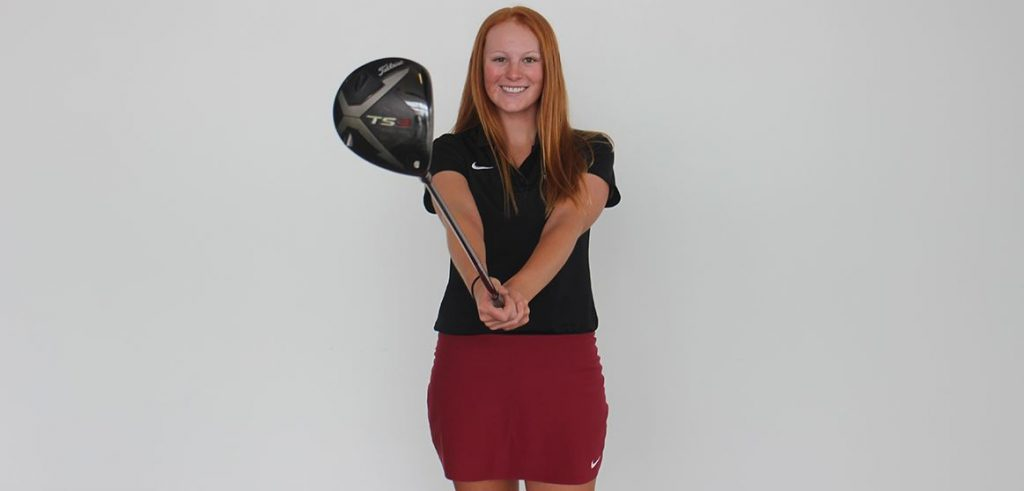 Hickstein selected as RMAC Golfer of the Week
