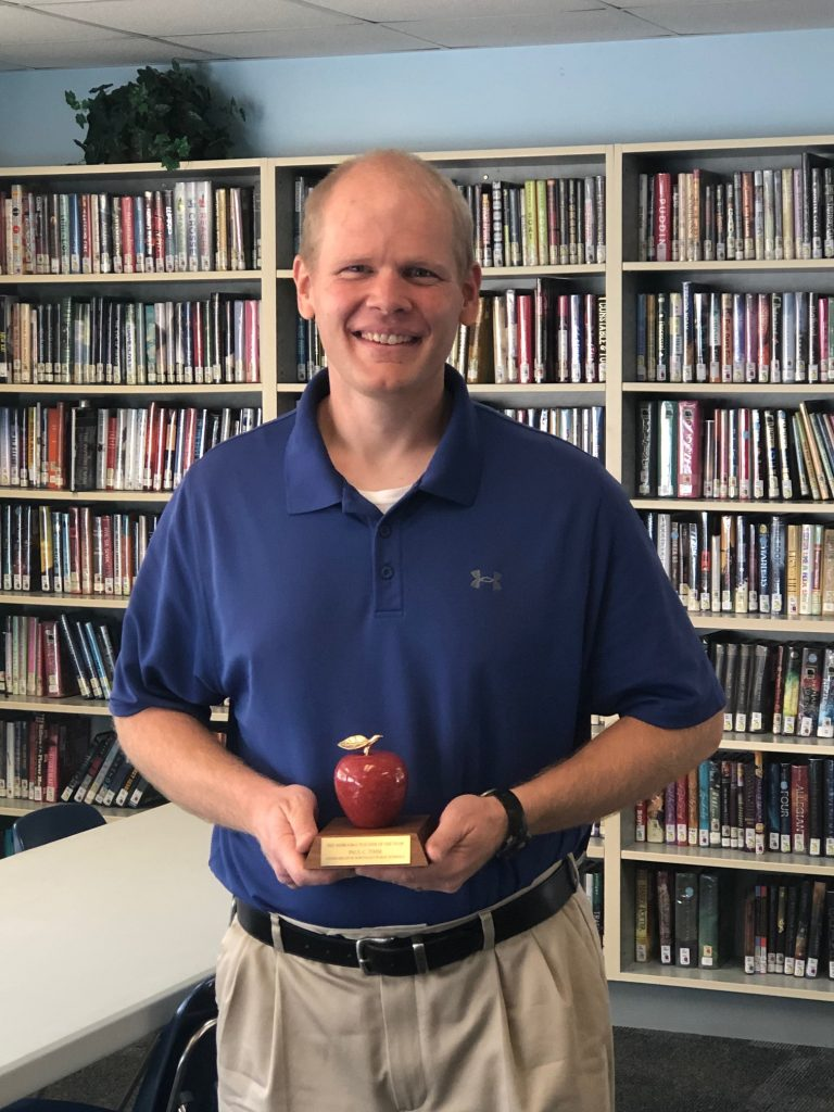 2021 NE Teacher of the Year is from Lyons-Decatur Northeast