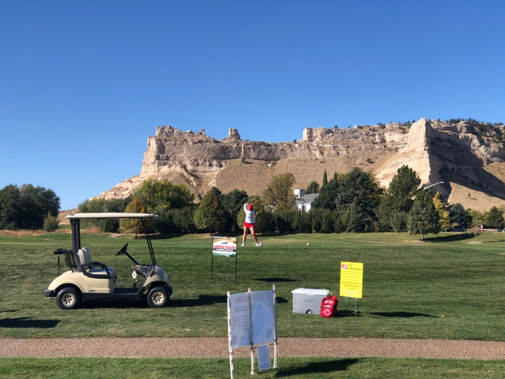 (Listen) Day 2 for Girls Class B Golf Championships in Gering