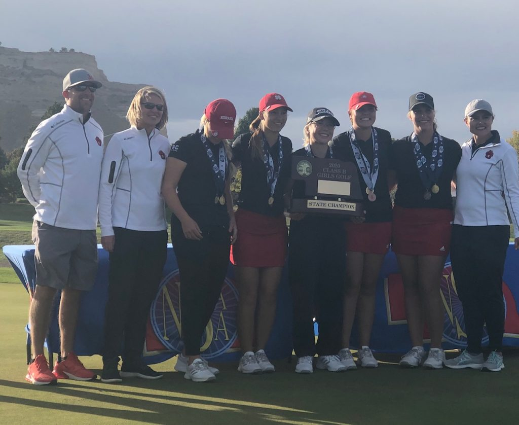 Scottsbluff, Kelley take home Class B State Golf titles on Tuesday