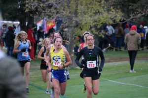 Gering's Maddie Seiler runs to cross country state title