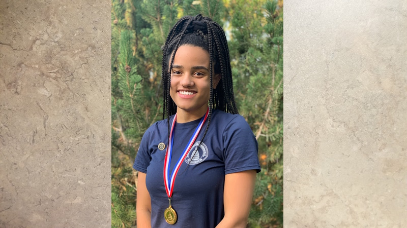 SHS Student Josie Amoo Awarded Congressional Gold Medal