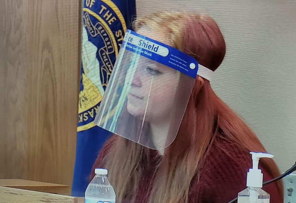 Another Woman Testifies About Relationship With Boswell and Trail in the Murder Trial of Boswell.