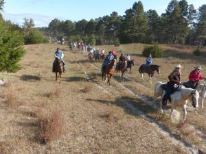 4-H Foundation Hosts 22nd Annual Benefit Trail Ride, Over 120 Riders Participate