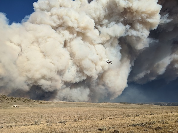 1,100+ Firefighters, Fleet of Aircraft Battling Mullen Fire in Wyo.