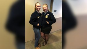 Norfolk FFA duo earns runner-up title at 93rd National FFA Convention
