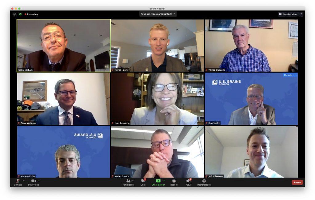 Nebraska Corn Board hosts international customers through Virtual Grain Exchange