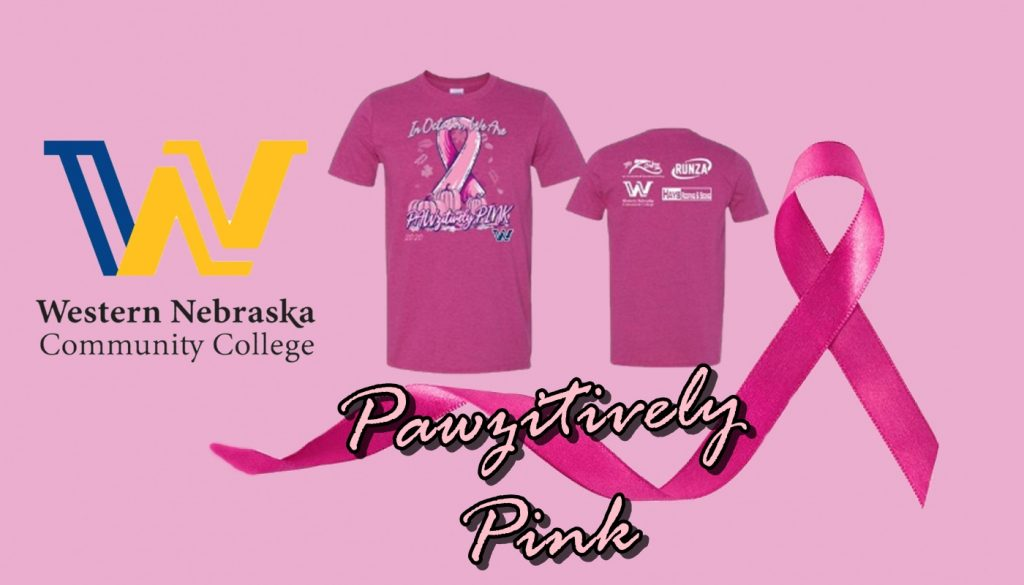 WNCC's Pawzitively Pink T-Shirts Support Festival of Hope