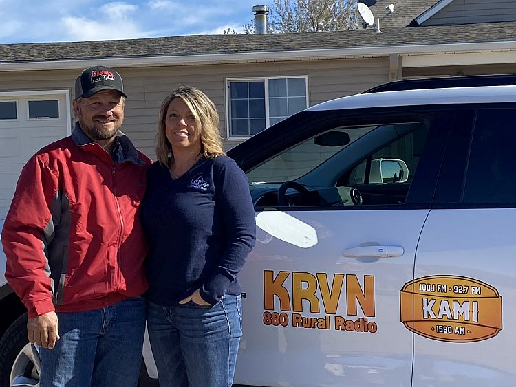 (VIDEO) Orleans man wins the KRVN Blazing New Trails vehicle