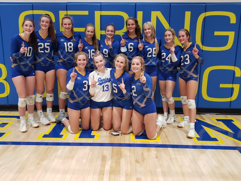 (Listen) Gering beats Scottsbluff to advance to volleyball District Final