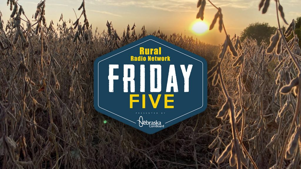 West to East Harvest Tour in Nebraska | Friday Five | Oct. 2, 2020