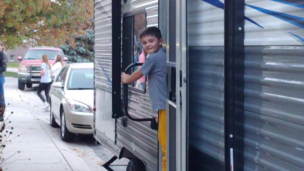 Gering Youth Battling Leukemia Gets Wish of Camper for Great Outdoors