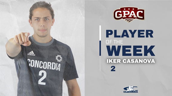 Casanova garners GPAC Defensive Player of the Week award