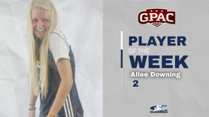 Downing named GPAC Defensive Player of the Week