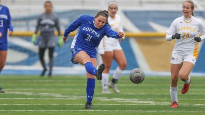 Lopers Hold Soccer Scrimmage