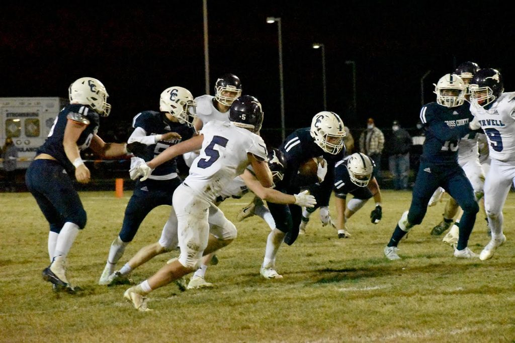 Cross County falls in semifinals for second straight season