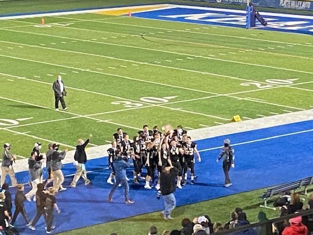 Mustangs capture first ever High School Football title