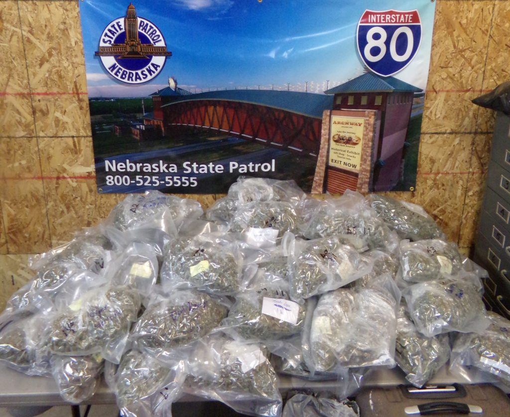 Troopers Find 49 LBs of Marijuana in I-80 Traffic Stop