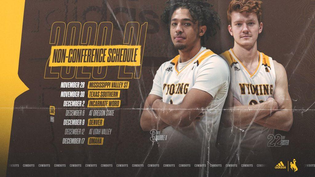 Cowboy Basketball Announces Non-Conference Slate