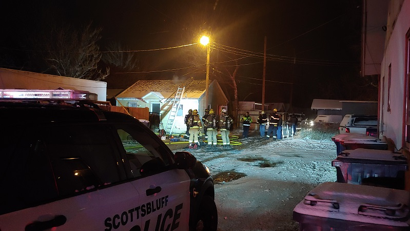 Property Damage Only in Monday Night Scottsbluff Fire