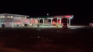 (Update) Lex truck stop reopened following fuel leak