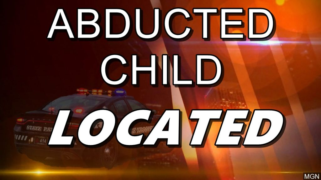 Abducted Child Recovered, Suspect Arrested near North Platte