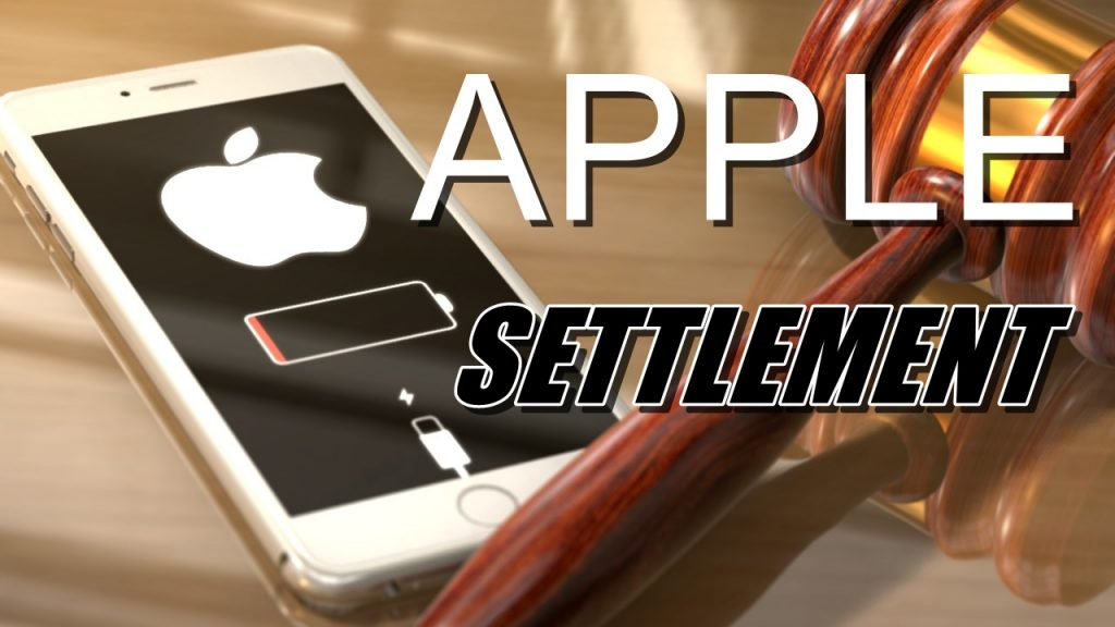 A.G. Peterson Announces $113 Million Settlement with Apple over iPhone Throttling