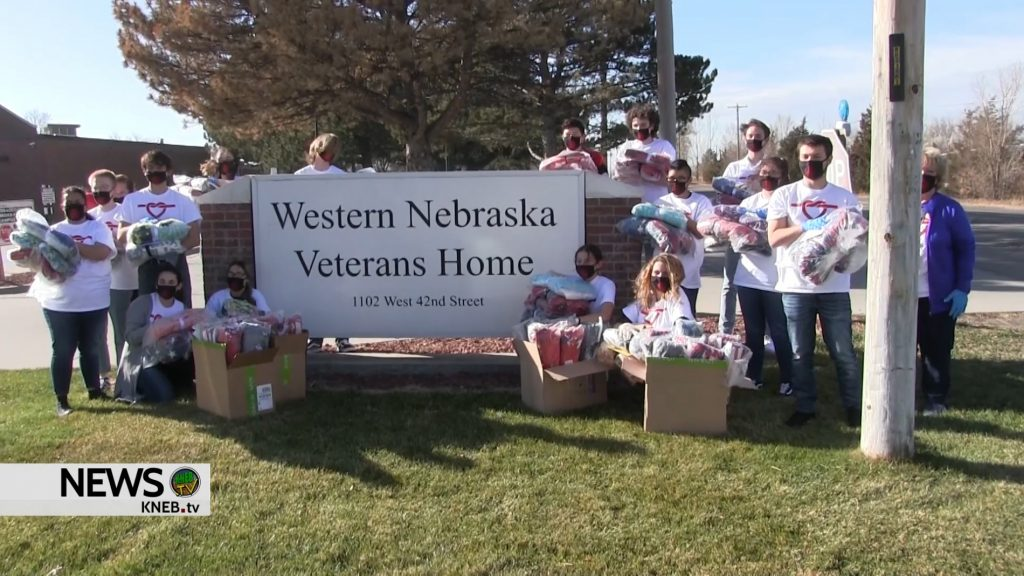 ***WATCH*** Local Students Make Donation to Western Nebraska Veterans Home