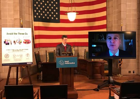 Gov. Ricketts Announces Phased Public Health Restrictions Tied to Coronavirus Hospitalization Rate