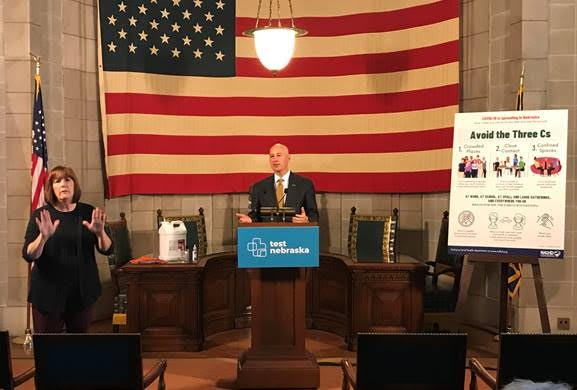 Gov. Ricketts Urges Nebraskans to Redouble Efforts to Stay Healthy