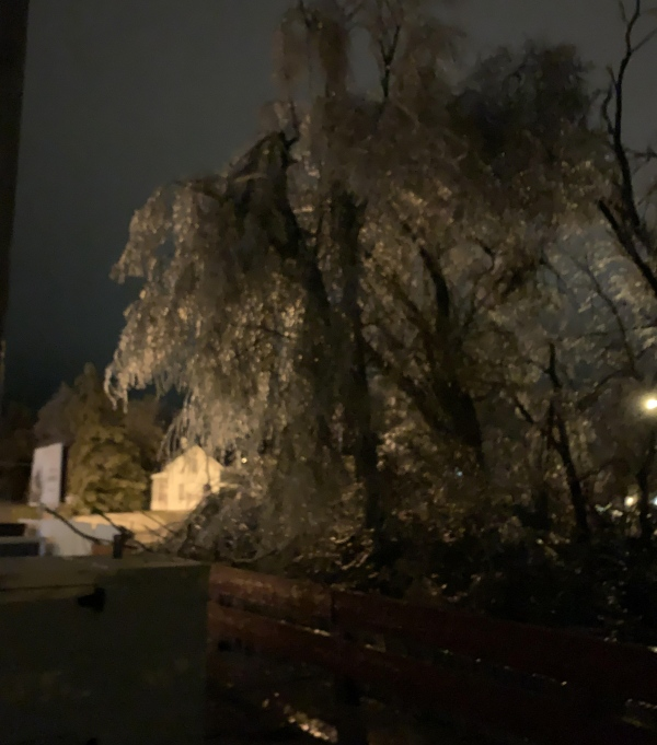 Ice storm swats northeast Nebraska