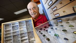 Spomer nets 40-year butterfly and beetle legacy