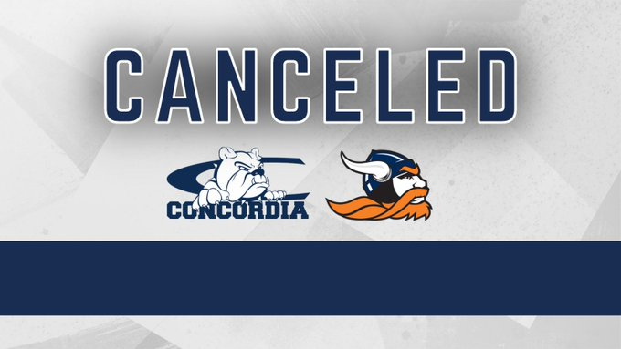 Concordia-Midland football game canceled