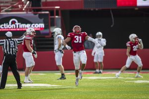 VIDEO: Huskers give out Blackshirts following Penn St. victory