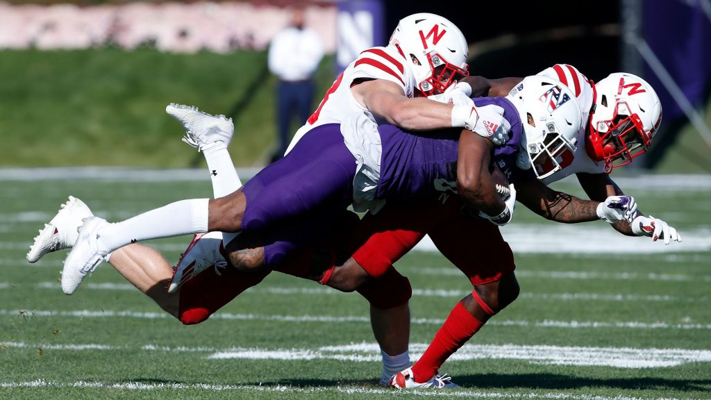Huskers Come Up Short in Evanston