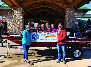 Columbus man wins boat in Take 'em Fishing challenge