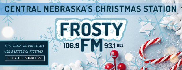Frosty FM Christmas slider