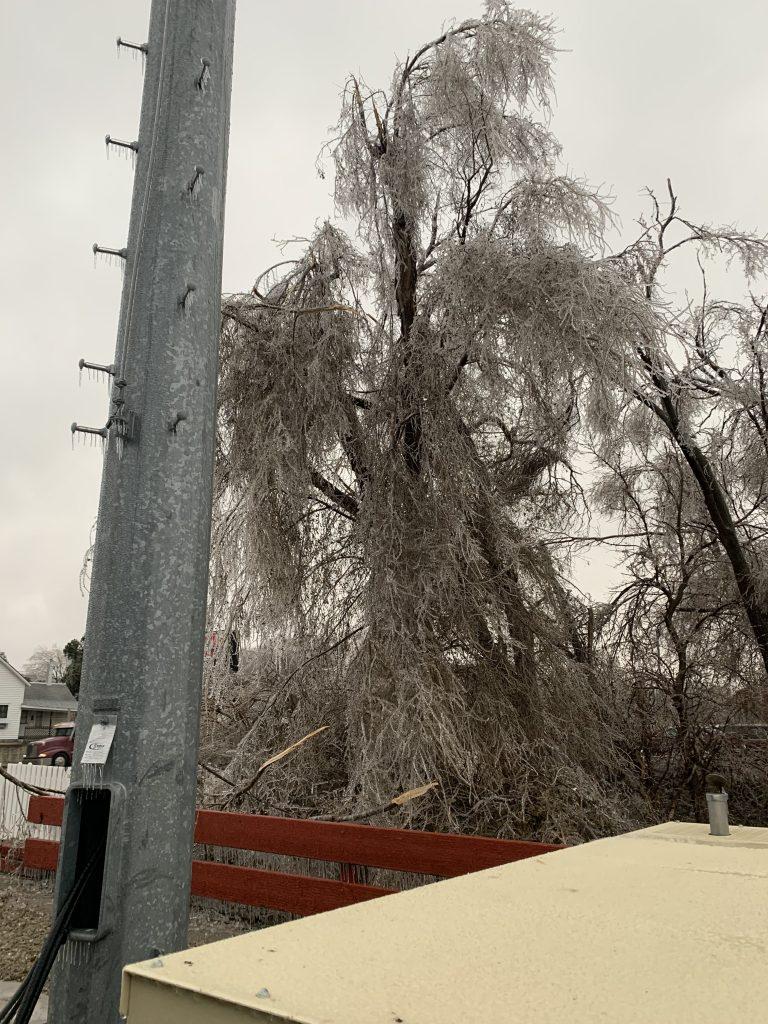 November Ice Storm Brings Damage to Northeast Nebraska