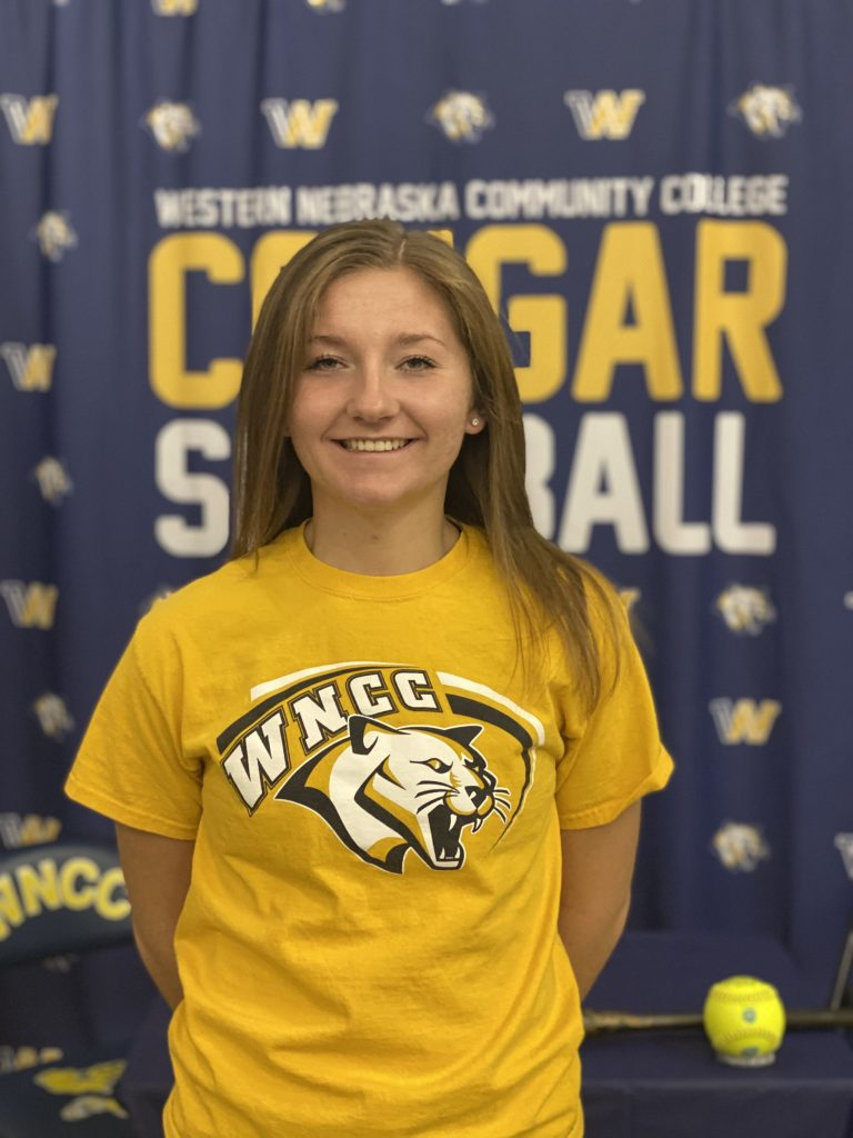 Scottsbluff's Johnston signs with WNCC softball
