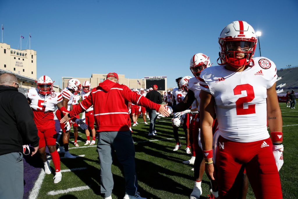 Frost, Nebraska players react to loss to Northwestern